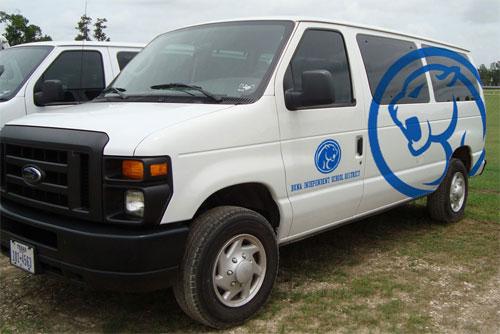 Buna Independent School District Vans