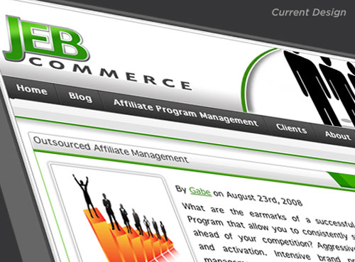 Current JEB Commerce Logo on Website