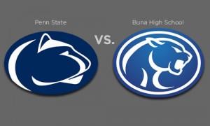 Penn State Nittany Lion vs. Buna H.S. Cougar