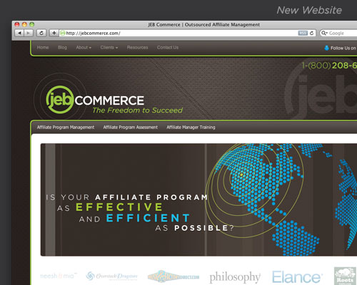 JEB Commerce Website